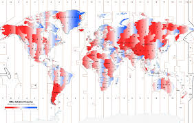 Africa Time Zone Map by Flightradar24 Time Zones Map Plane Flight Tracker