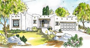 adobe style home plans pueblo style house plan 72191da architectural designs house