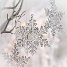 clear acrylic snowflake ornaments ornaments