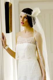 great gatsby headband great gatsby headband veil wedding dress from visionary veils