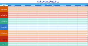 Excel Weekly Schedule Template Free Weekly Schedule Templates For Excel Smartsheet