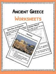 ancient greece worksheets facts u0026 information for kids