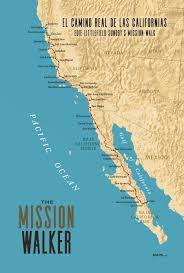 California San Jose Map by The Mission Walker Map Maps Com Solutions