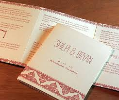 folded wedding program how to incorporate two languages into one wedding letterpress