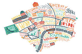 London Maps London Map Illustrated Maps By Benoit Cesari Aka Bnito