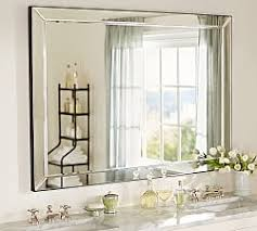 pictures of bathroom vanities and mirrors bathroom vanity mirrors pottery barn