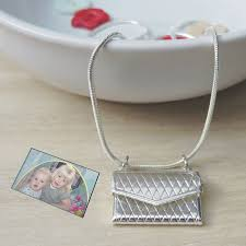 s day necklace photo envelope pendant ideal wedding day necklace for or