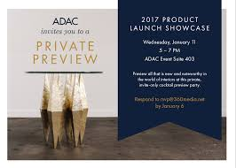 invites only adac invites media to a private preview party january 11 2017