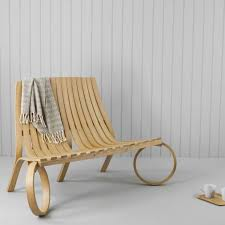 Designer Wooden Garden Bench by Garden Bench Original Design Wooden Loop Tom Raffield