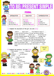 882 free esl be auxiliary verb worksheets