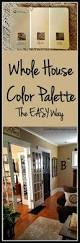 whole house color palette the easy way live from julie u0027s house
