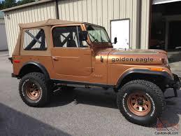 79 jeep for sale jeep cj7 golden eagle cj 7 automatic v8 80 restored