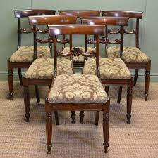 William Iv Dining Chairs Quality Set Of Six Gillows Design William Iv Antique Rosewood