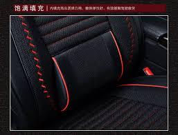 coussin si e auto automobile voiture housses de siège auto coussin ensemble pu pour