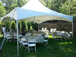 party rental chairs and tables tent table and chair rentals k j party rentals nazareth pa