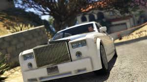 rolls royce chrome rolls royce phantom ewb gta5 mods com