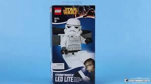 Lego Darth Vader Led Desk Lamp Lego Star Wars Stormtrooper Head Lamp Flashlight Youtube