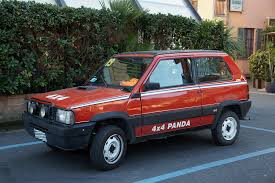 smallest cars fiat panda 4x4 1983 2003 one of the smallest off road cars ever
