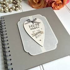 Guest Book Photo Album Personalised Hen Party Guest Book And Keepsake Album By The Little