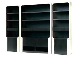 Solid Wood Bookcases With Glass Doors Bookcases With Glass Doors Bookcase Glass Doors Locking Bookcase