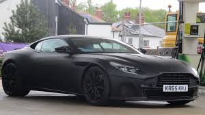 many aston martins spotted around 2018 aston martin db11 s spied driving in yorkshire youtube