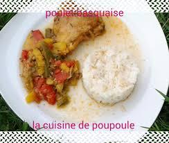cuisine poulet basquaise poulet basquaise au thermomix la cuisine de poupoule