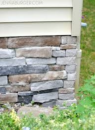 New Stone Veneer Panels For by Adding Stone Veneer To A Concrete Foundation Wall Jenna Burger