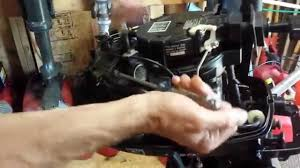 clogged carburetor diagnosis 2007 5hp mercury tohatsu outboard