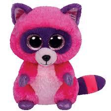 ty beanie boos roxie raccoon small beanei boos ty
