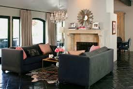 gray sofa pink pillows design ideas