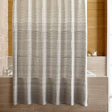 Grey Ombre Curtains Veres Grey Ombre Shower Curtain In Shower Curtains Rings