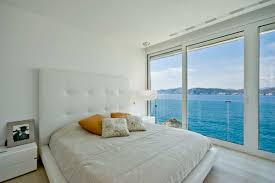 House Design From Inside Bedroom You Can See The Mediterranean Sea View From Inside In