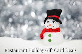 restaurant gift card deals restaurant gift card deals for 2015