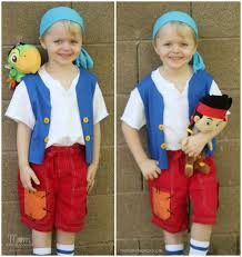 diy sew jake land pirates cubby costume