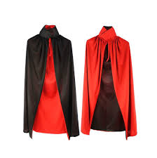 nine states children u0027s vampire cape red and black click image