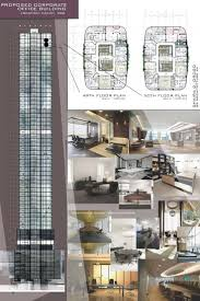 architectural layouts office design office building rendering done in revit