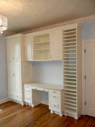 now this craft room is what i dream about built in shelves and