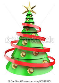 christmas tree light clips 3d light green christmas tree 3d illustration of light clip art