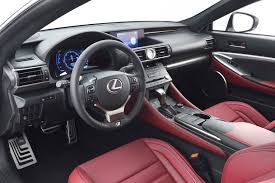 lexus nx black red interior 2015 lexus rc f sport information lexus enthusiast