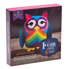 craft tastic pom owl kit ann williams group