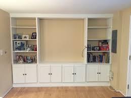 half closet half desk wall units diy built in shelves ideas diy built in shelves around
