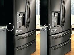 cabinet depth refrigerator lowes counter depth refrigerator lowes counter depth refrirators counter