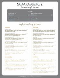 21 best interesting beauty and spa menus images on pinterest spa
