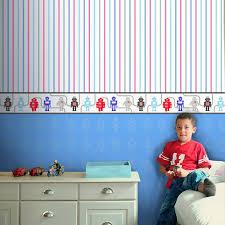 Childrens Bedroom Borders Stickers Boys Themed Wallpaper Borders Kids Bedroom Cars Dinosaur Space