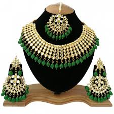 fashion jewelry necklace set images Indian traditional beautiful fashion jewelry necklace set varied color jpg