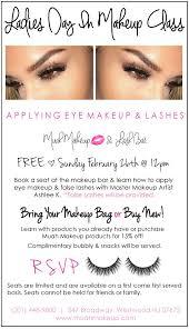 makeup classes in nj eye makeup muah makeup and lash bar westwood new jersey