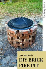 How To Build Cheap Fire Pit 2102 Best Diy Fire Pit Images On Pinterest Backyard Fire Pits