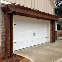 pergola over garage an excellent option garage pergola modern