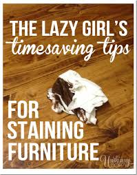 Stain Unfinished Kitchen Cabinets The Lazy U0027s Timesaving Tips For Staining Furniture Unskinny