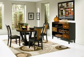 Coaster Dining Room Sets Boyer 5 Piece Dining Set In Black And Cherry Finish By Coaster